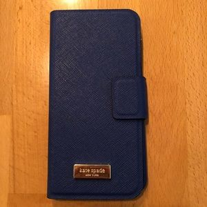 Kate Spade iPhone case with cover. EUC